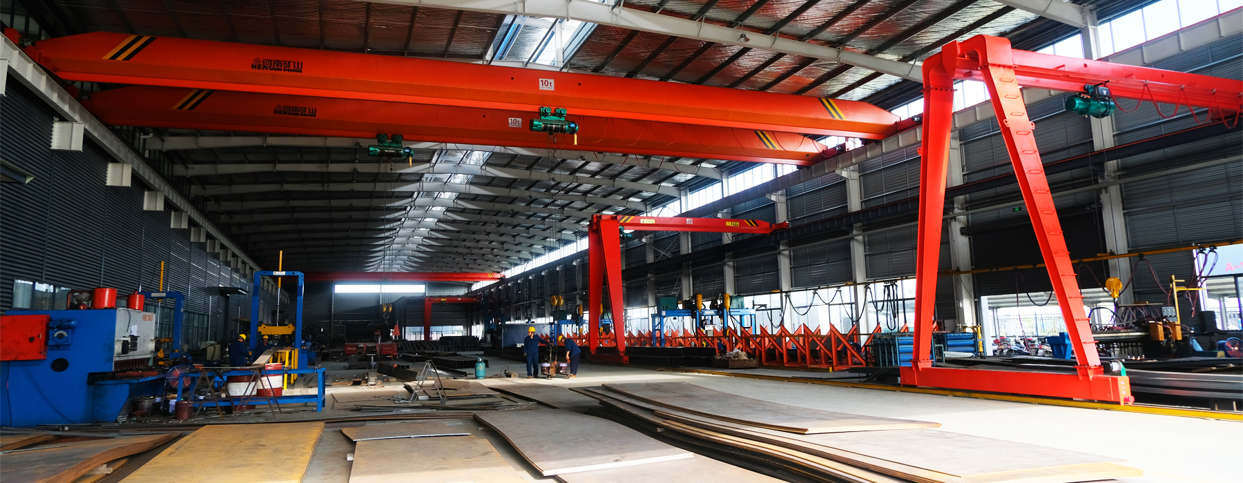 Shanghai-Tengwei-Color-Steel-Products-Workshop